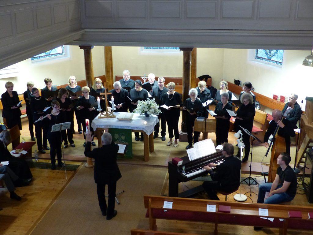 Chor und Musiker