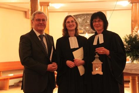 Walter Funk, Angelika Haffner und Annemarie Steinebrunner
