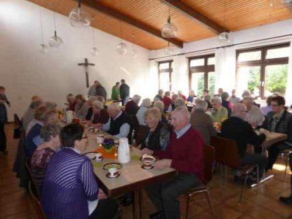 Seniorennachmittag im kath. Gemeindehaus Schatthausen