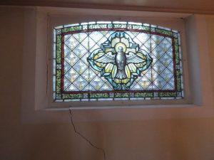 Mauerriss Fenster Altarbereich