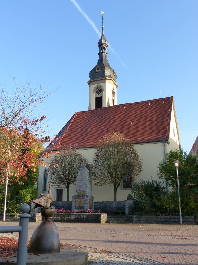 Kirche ohne Gerüst